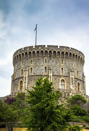 the royal county: Donjon - the great tower or innermost keep of a Medieval Windsor Castle. Windsor Castle is a royal residence at Windsor in the English county of Berkshire. It was built in 1066 by William the Conqueror and it is the longest-occupied palace in Europe. UK