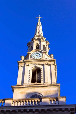city of westminster: The St. Martin-In-The Fields Church Path in the City of Westminster. London. UK