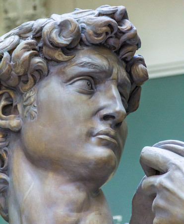 michelangelo: Casts of statues of David by Michelangelo