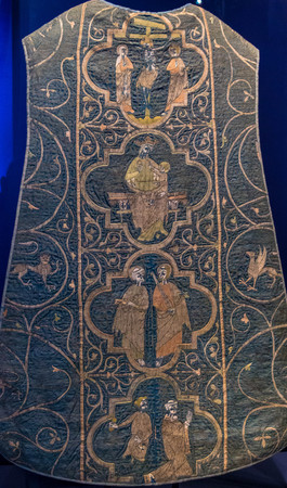 vestment: Chasuble, the vestment of Catholic priest, Victoria and Albert museum. London