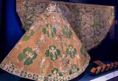 14th: Detail from the Syon Cope, early 14th century in Victoria and Albert museum. London