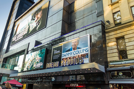 LONDON, UK - JUNE 7, 2015: Odeon cinema at Leicester Square