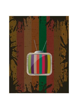 backround: Vintage TV Backround
