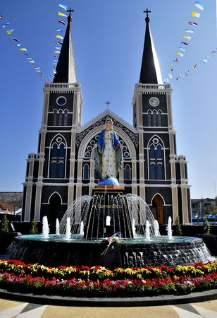Beautiful Church in Thailand photo