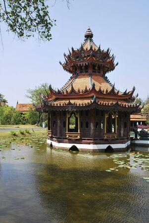 Chinese Hexagon Temple photo