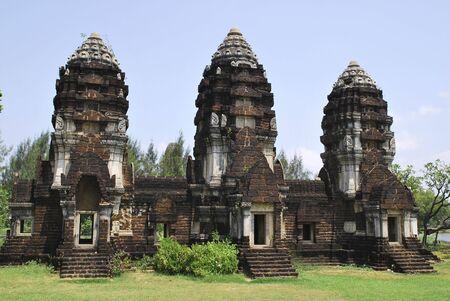 Ancient Cambodian Castle photo