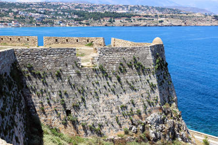 embrasure: The walls of the fortress