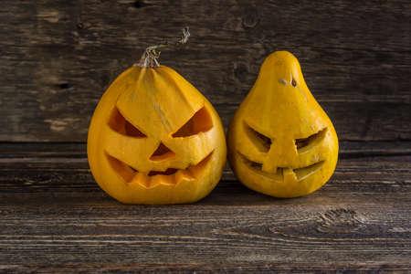 Two pumpkin for Halloween