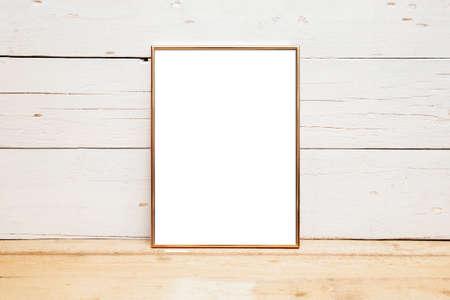 8x10 18x20 Frame Mockup, Styled Mockup on Wood Reklamní fotografie