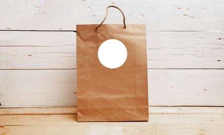 Wedding favor mockup, gift tags mockup, kraft paper bag, welcome bag tag, blank tag mockup, thank you tag