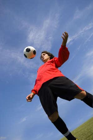 Soccer - Football Player controlling ball