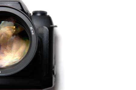 coatings: Professional digital camera closeup Stock Photo