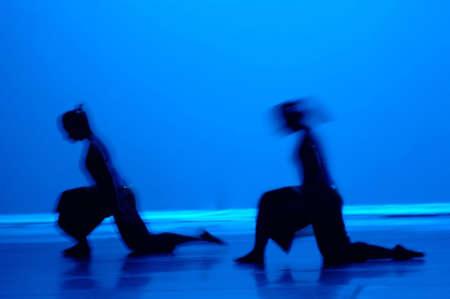lyrical dance: Dance in Blue
