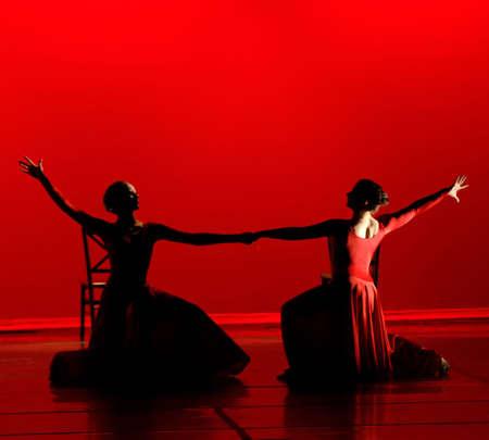 lyrical dance: Dance in Red