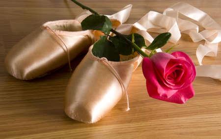 zapatillas ballet: nuevas zapatillas de ballet - con zapatos rosa