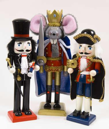 nutcracker: Christmas Nutcrackers , drusselmeyer and nutcracer prince, mouse king