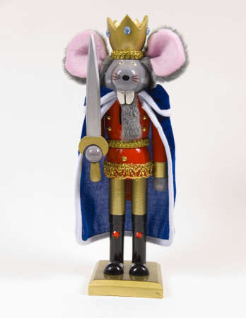 Christmas Nutcrackers ,mouse king from nutcracker story Zdjęcie Seryjne