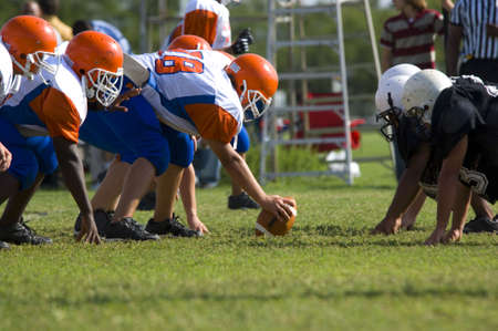 played: American Football played by young men