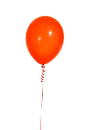 globos fiesta: Multicolred parte de cadenas de globos con un fondo blanco