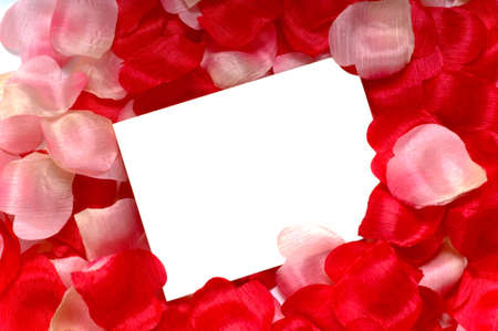 sweetest: Rose petal notecard for use at valentines day, sweetest day or for any romantic invitation or announcement