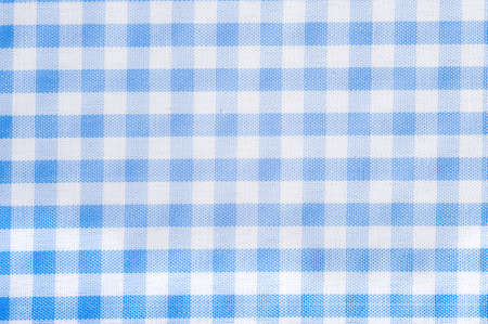 Light Blue Gingham Or Checked Tablecloth Background Stock Photo   4726137