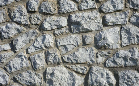 石積み石または煉瓦壁の背景 写真素材