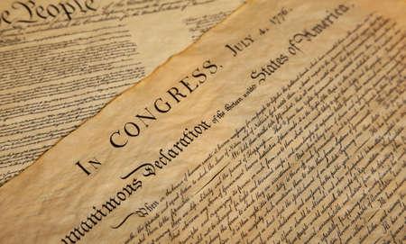 constitucion: Declaraci�n de independencia de los Estados Unidos