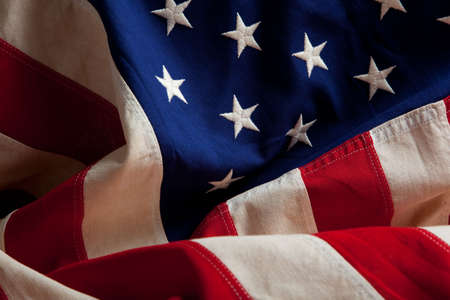 An american flag as a background Stock Photo - 5739453