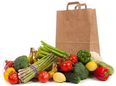 assortment: Assorted vegetables and fruits