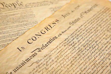 United States Declaration of Independence Stock Photo - 5800971