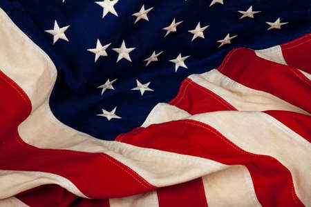 A background of the United States American flag Stock Photo - 6048126