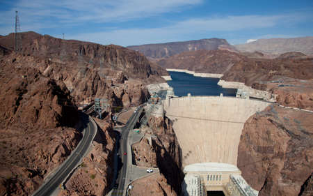 Hoover Dam on Lake Meade Arizona, Nevada photo