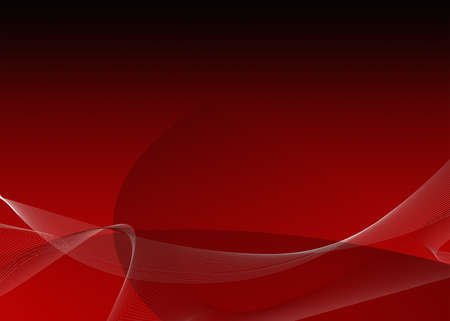 a red gradiant background