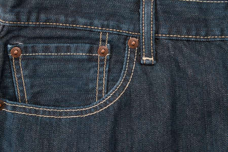 waistband: A pocket with rivets and a waistband used as a background