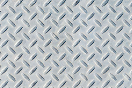 diamond plate: Weathered diamond plate background