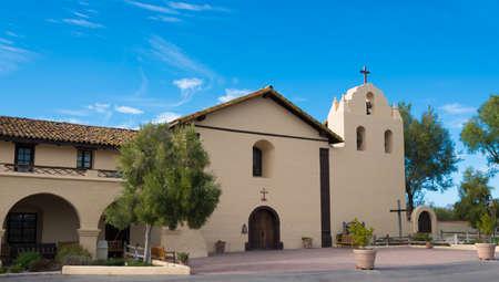 central california: Santa Ynez mission in Solvang California