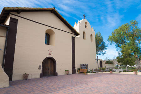 missionary: Santa Ynez mission in Solvang California