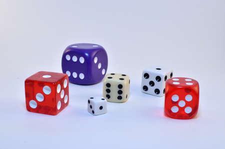dice varieties Banco de Imagens