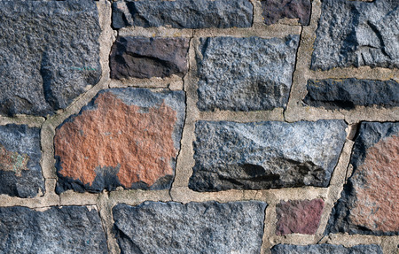 Background of stone wall, stone texture