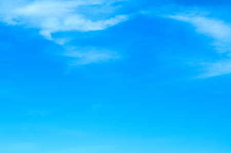 Beautiful  textured  Clear blue sky Background