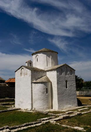 Church of St. Cross, Nin, Croatia Stock Photo