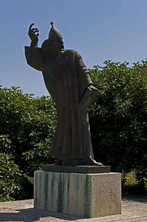 Gregory of Nin Statue, Split, Croat Stock Photo