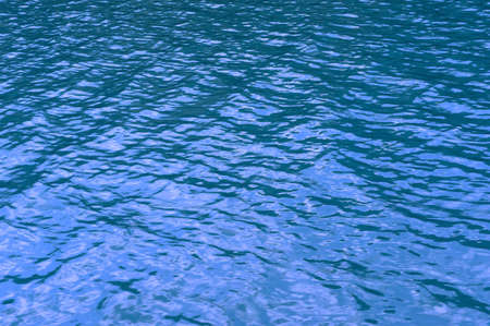 Texture, blue waters of lake Plitvice