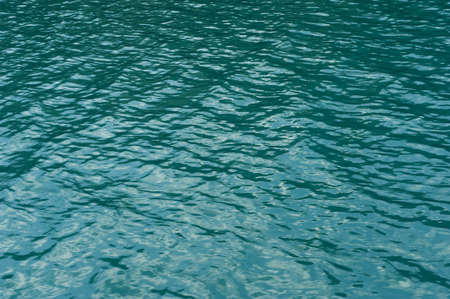 Texture, green waters of lake Plitvice