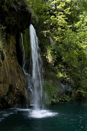 litvice Lakes National Park, Croatia. County of Lika-Senj, 10km east of Bihac, Croatia. The park is registered on the UNESCO list of the  Worlds natural inheritance. The beauty of the area is undescrible.