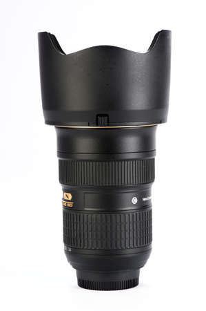 This is a 24-70 mm. zoom lens in premium quality for a DSLR camera  photo
