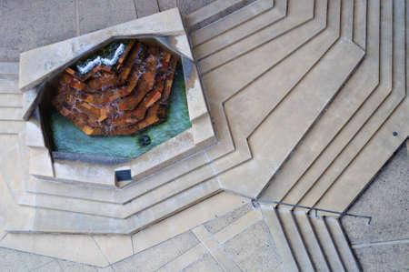 university fountain: Overlooking Fountain at UC Irvine