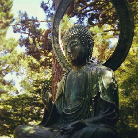 samsara: Bronze Buddha in Meditation