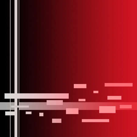 Simple Lines Background  - Red