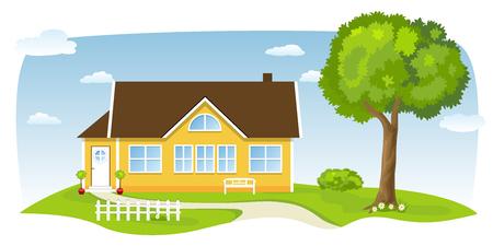 suburb: Yellow Cottage